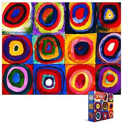 Eurographics Puzzle Mini 100 Pz Kandinsky Study Squares