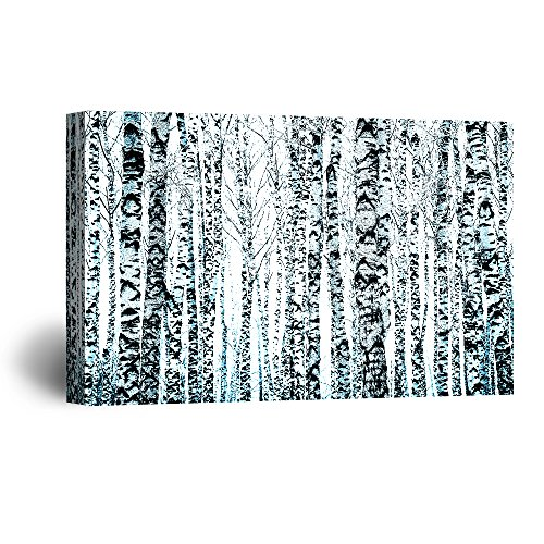 Abstract Black and White forest Gallery