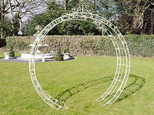 Arco de jardín pérgola Arbour rosa celosía redondo arco para ...