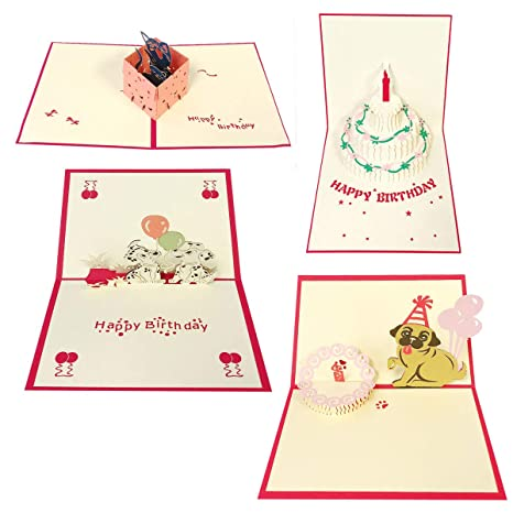 Amazon.com: Allydrew Pop Up - Tarjetas 3D para todas las ...