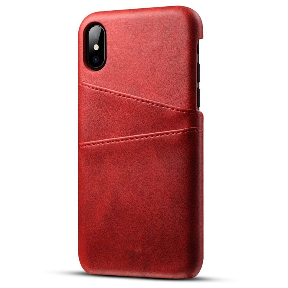 Luxury Leather Cover For iPhone XS Max Case 6.5 inch With Screen Protector (Brown) Goodtrade8 Clearance