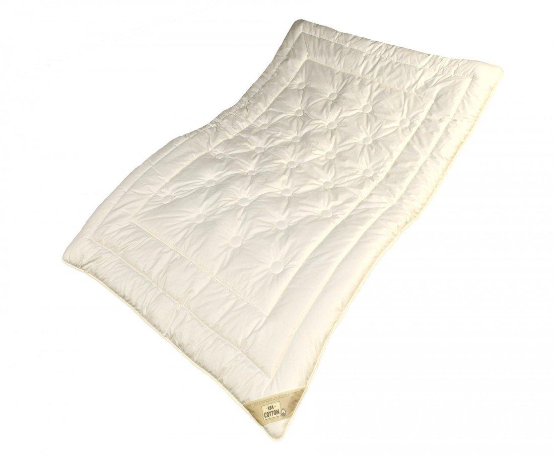 Extra Leicht Steppbett Bettdecke Cotton Garanta für Kinder - Größe 100 x 135 cm - Füllung Baumwolle aus Bio Tierhaltung