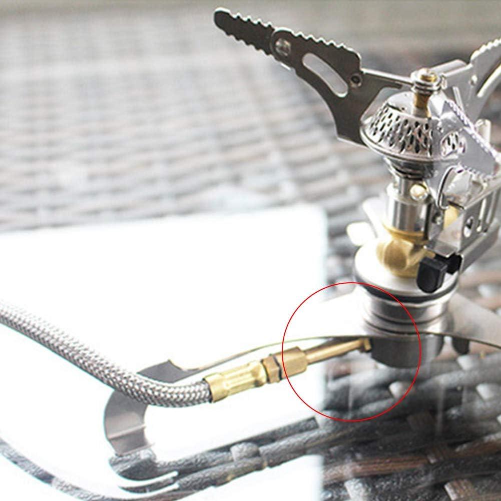 Portable Outdoor Camping Gas Burner Adapter Stove Furnace Head Tank Converter hudiemm0B Furnace Head Converter