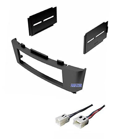 amazon com car stereo dash kit and wire harness for installing a rh amazon com