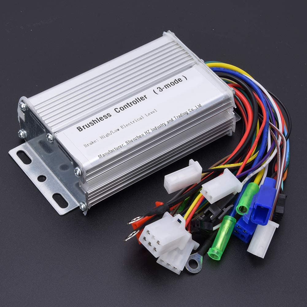 Alomejor Electric Motor Controller 350W Electric Bicycle Brushless Speed Motor Controller for Electric Bicycle