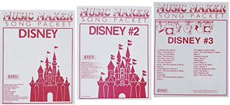 photograph relating to Free Printable Lap Harp Music Cards named Lap Harp New music: Disney #1, #2, #3, Songsheets for Zither, Tunes Company