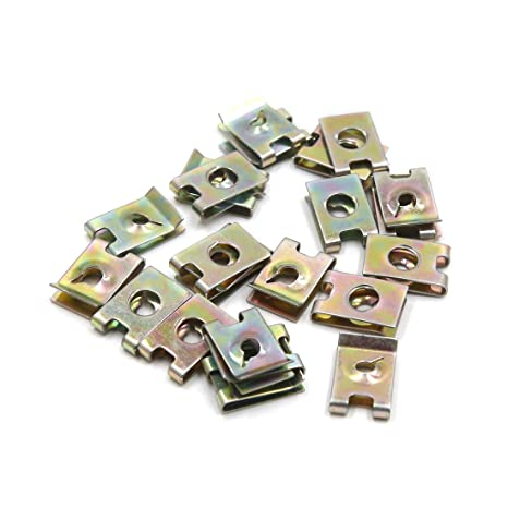 uxcell - Juego de 20 Remaches de Metal para Puerta, Color Cobre, 5,