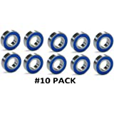 10-PACK 1638-2RS C3 Premium Ball Bearing ZSKL