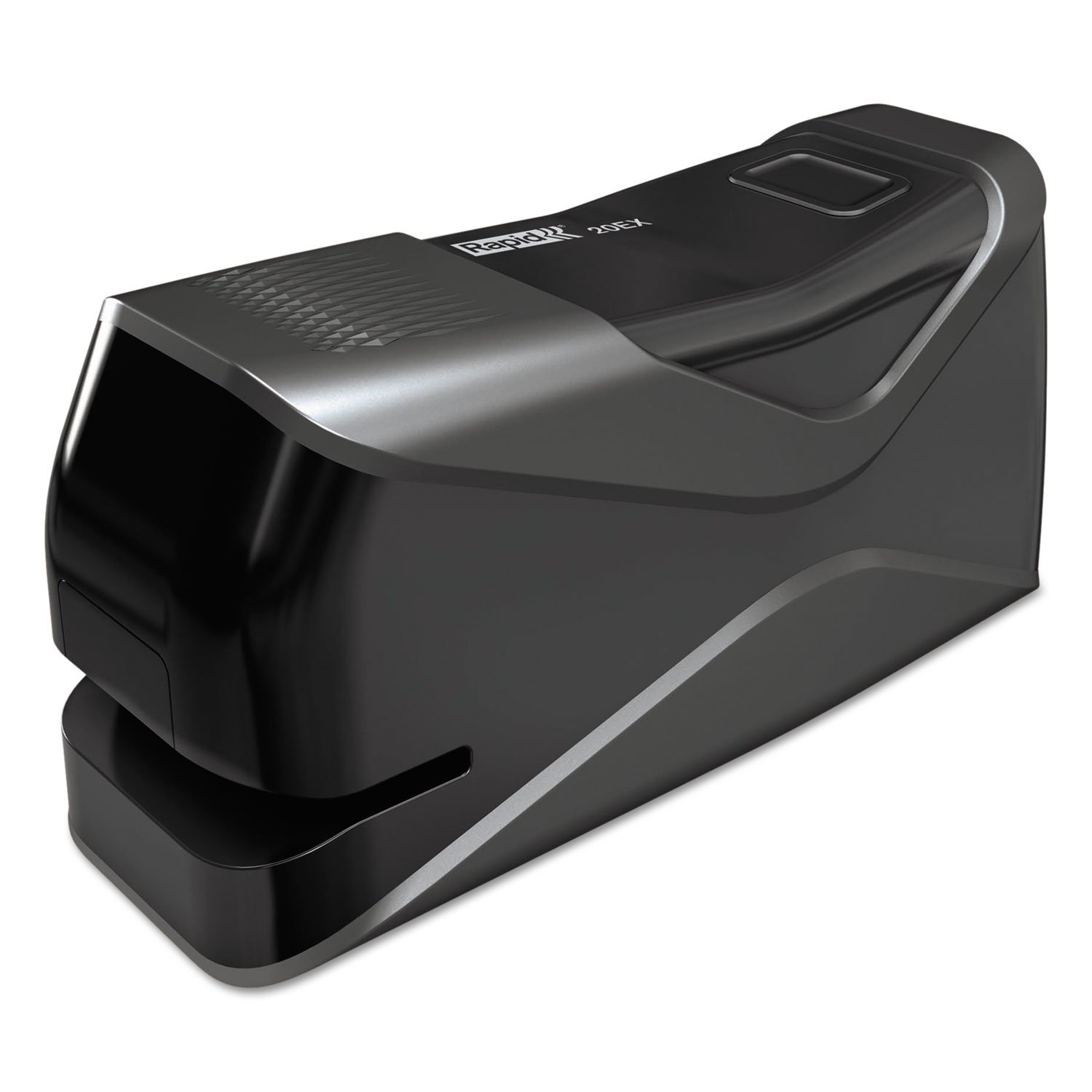 Rapid 73126 20EX Front-Loading Electric Stapler Half Strip 20-Sheet Capacity Black