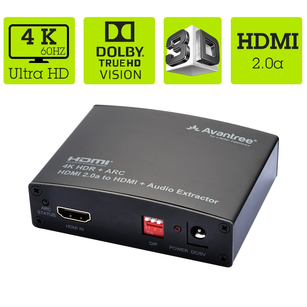invitation wording for networking event%0A Amazon com  Avantree  K   HZ HDMI    a Audio Extractor  Video Audio  Splitter Converter  HDMI To HDMI ARC Optical Toslink SPDIF    mm Aux  Coaxial