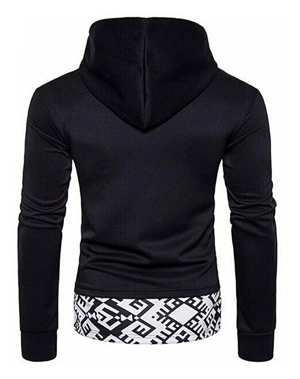 goldenharvest GH Mens Long Sleeve Pullover Tops Hoode Sweatshirt