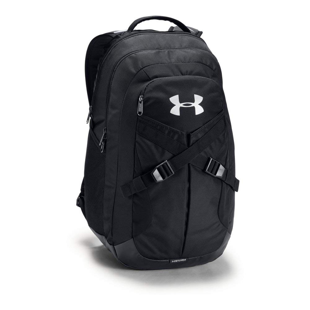 Under Armour Recruit Backack 2.0 Backpack, Black/Silver, One Size by Under Armour