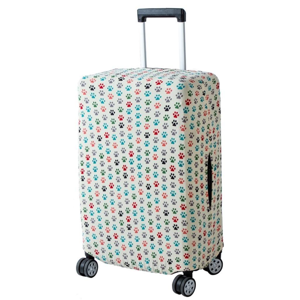 Gaddrt Housse de valise /élastique imperm/éable /à la poussi/ère housse sac de voyage 18-20 pouces A