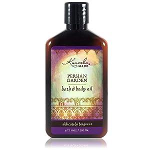 Kuumba Made Persian Garden Bath & Body Oil   Certified Organic   6-Ounces (1-Unit)