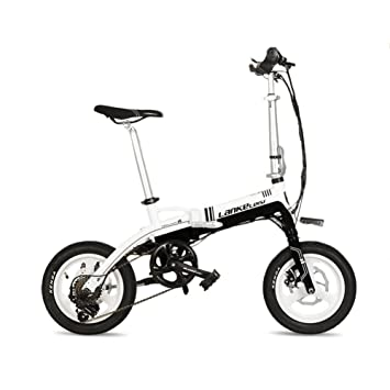 Extrbici A6 Folding Mini Electric Bicycle 14 Inch Aluminum Alloy