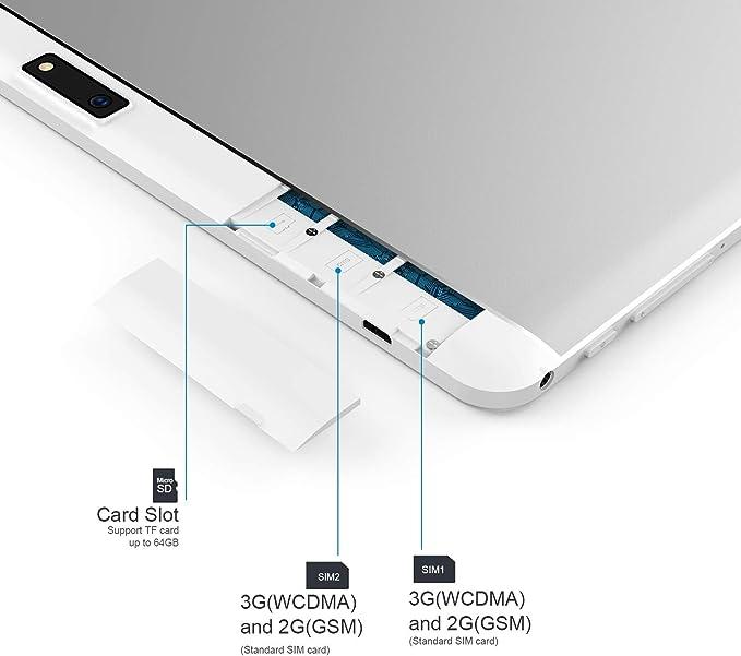 Tablet Android 10 Pulgadas Desbloqueado 3G teléfono computadora ...