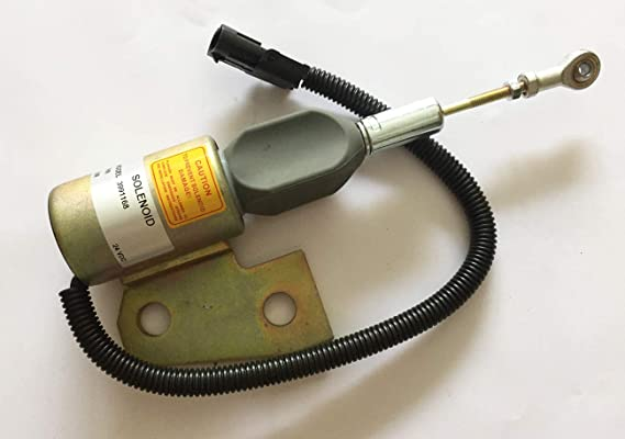 Vlemba Fuel Shut Off Solenoid Valve 3964628 24V SA-4941-24 For Cummins 4BT Hyundai R130 etc