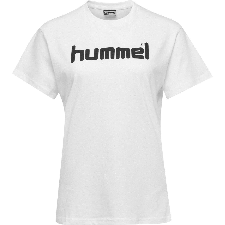 hummel Hmlgo Cotton Logo Felpe con Cappuccio Donna