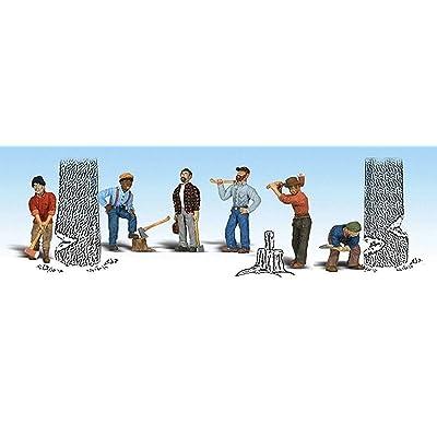 HO Lumberjacks: Toys & Games