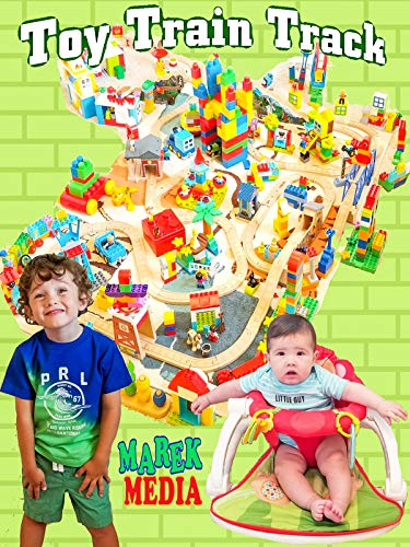 Toy Train Track - Train Jr