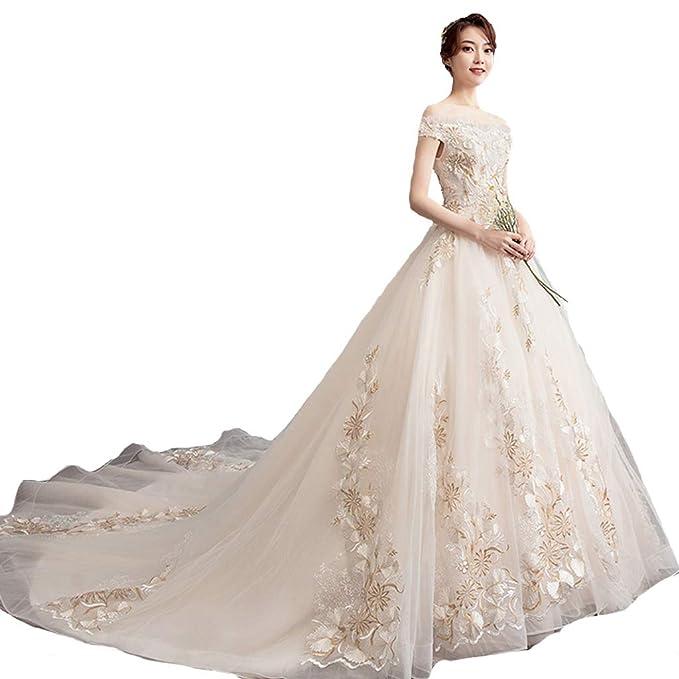 Vestidos de novia cola larguisima