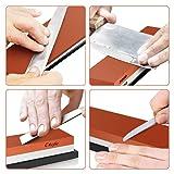 BearMoo Whetstone Premium 2-IN-1 Sharpening Stone