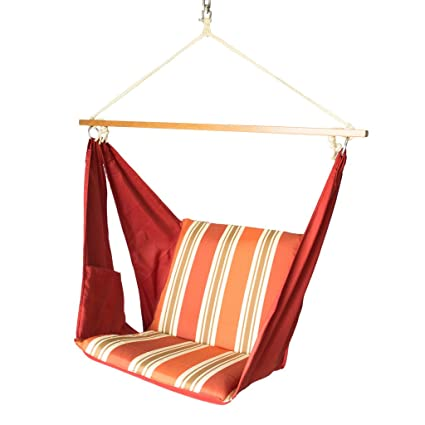 Slack Jack Butterfly Fabric Swing (Red and Brown)