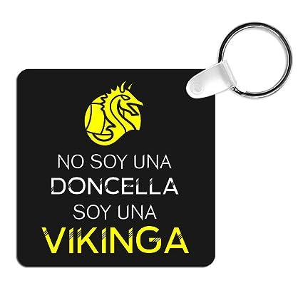 Llavero Soy una Vikinga. Parodia Vikingos, Lagertha. Llavero ...