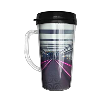 Ytfsf Subway Casual Cute Handle Coffee Cup Home,Office,Meeting,Dinner,Outing