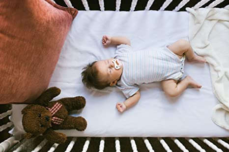 SLEEPAA Colch/ón de cuna 120x60 cm Espuma acolchada Transpirable Descanso beb/é Altura 10 cm Fabricado en Espa/ña Confort 117x57 cm