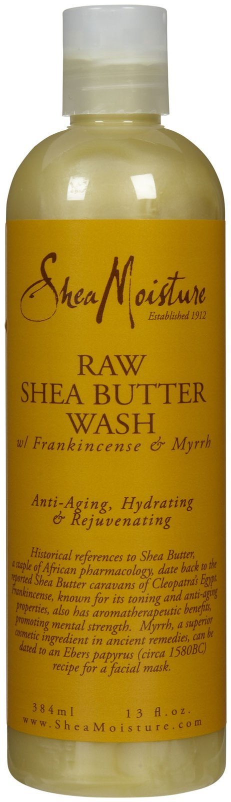 Shea Moisture Raw Shea Butter Body Wash-13 oz