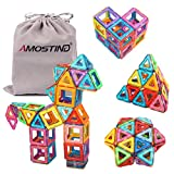 Magnetic-Tiles-Building-Blocks-Set-by-idoot-Educational-Toys-for-Kids-with-Storage-Bag--64pcs