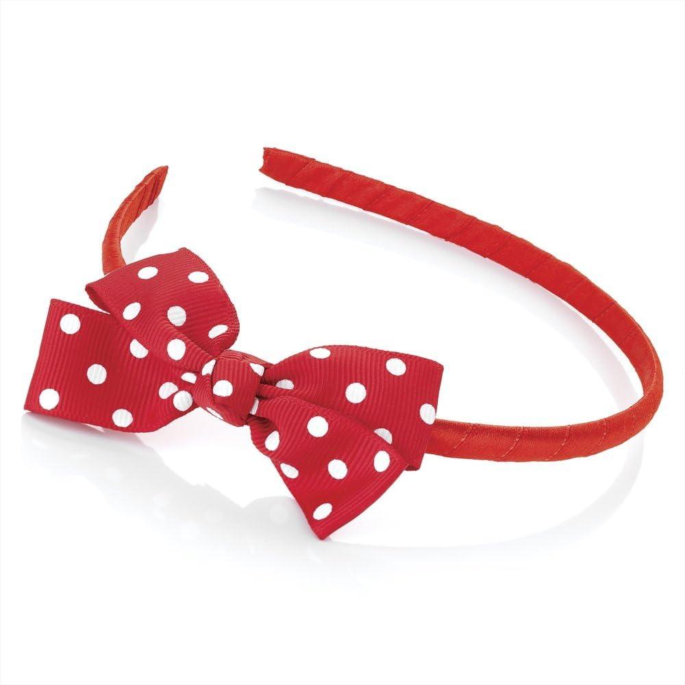 Polka Dot Aliceband Headband Spotty Black Hairband Girls Hair Accessories