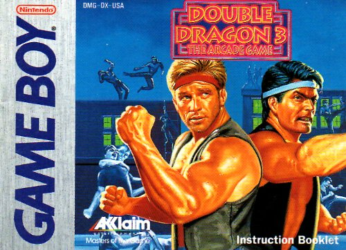 Double Dragon Arcade (Double Dragon 3 The Arcade Game GB Instruction Booklet (GameBoy Manual Only - NO GAME) (Nintendo GameBoy Manual) NO GAME INCLUDED)