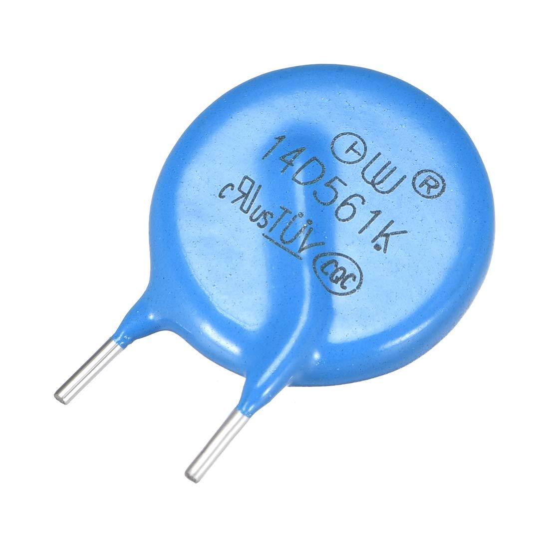 uxcell 20Pcs Voltage Dependent Resistors AC 175V 14D271K Radial Lead Disc Varistors