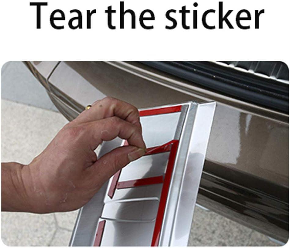 GLFDYC Edelstahl Ladekantenschutz f/ür Mitsubishi Outlander 2013-2019 Fahrzeugspezifische Passform Sto/ßstangen Gegen Zerkratzen