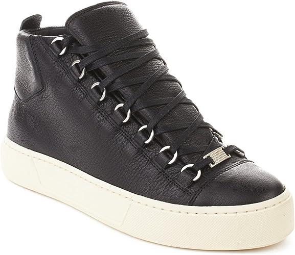 Balenciaga Men's Arena Leather High Top