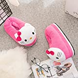CLOUD 9 KIDS FAMOUS CARTOON CHARACTER FACE Unisex Plush, Fully Covered Slip on Home Shoes- Warm, Comfortable Slippers Anti-Slip Home Shoes (Kids Size 10CMx5CMx2CM Design may vary )