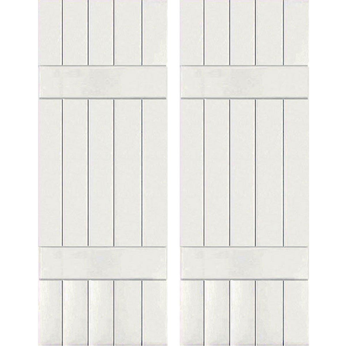 Ekena Millwork CWB18X043WHC Exterior Five Board