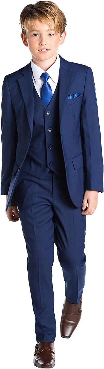 Prom Suits Page Boy Suits 12-18 Months Boys Blue Suit Paisley of London 14 Years