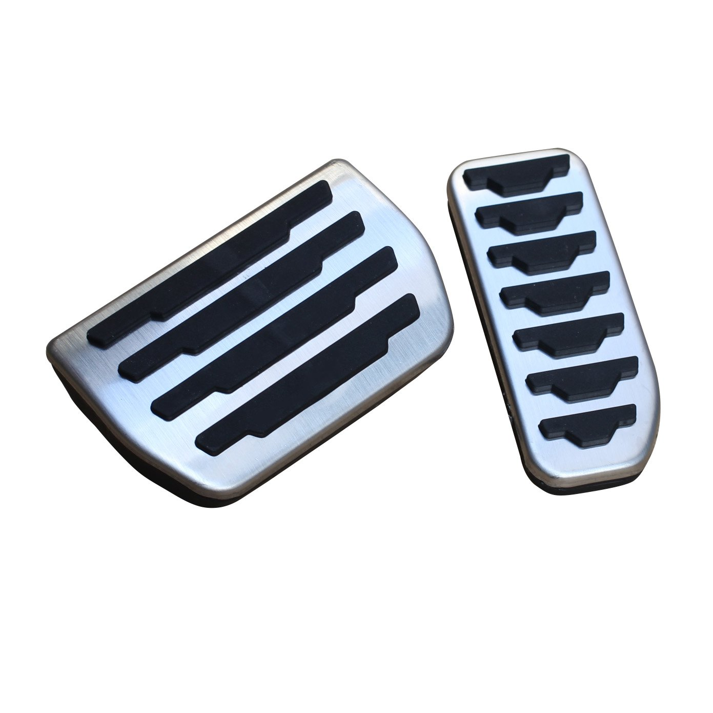 AutoBig No Drill Gas Brake Pedals for Discovery Sport Evoque Jaguar XE XF F-Pace Land Rover