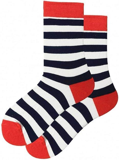 WLQXDD 3 Pares comienzan a venderse Calcetines 1 Par De Calcetines para Hombre, Calcetines Divertidos De Algodón, Dibujos Animados, Raya De Fruta, Calcetines De Mujer,: Amazon.es: Deportes y aire libre
