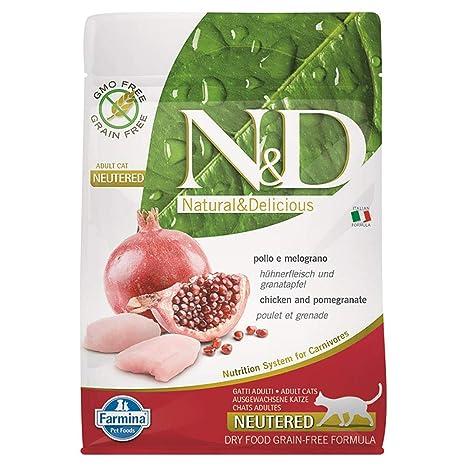 Farmina N&D Grain Free Neutered para gatos 300 ...