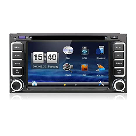 Amazon.com: With Camera and Map!!! 2 DIN 6.2 TOYOTA 4 ...