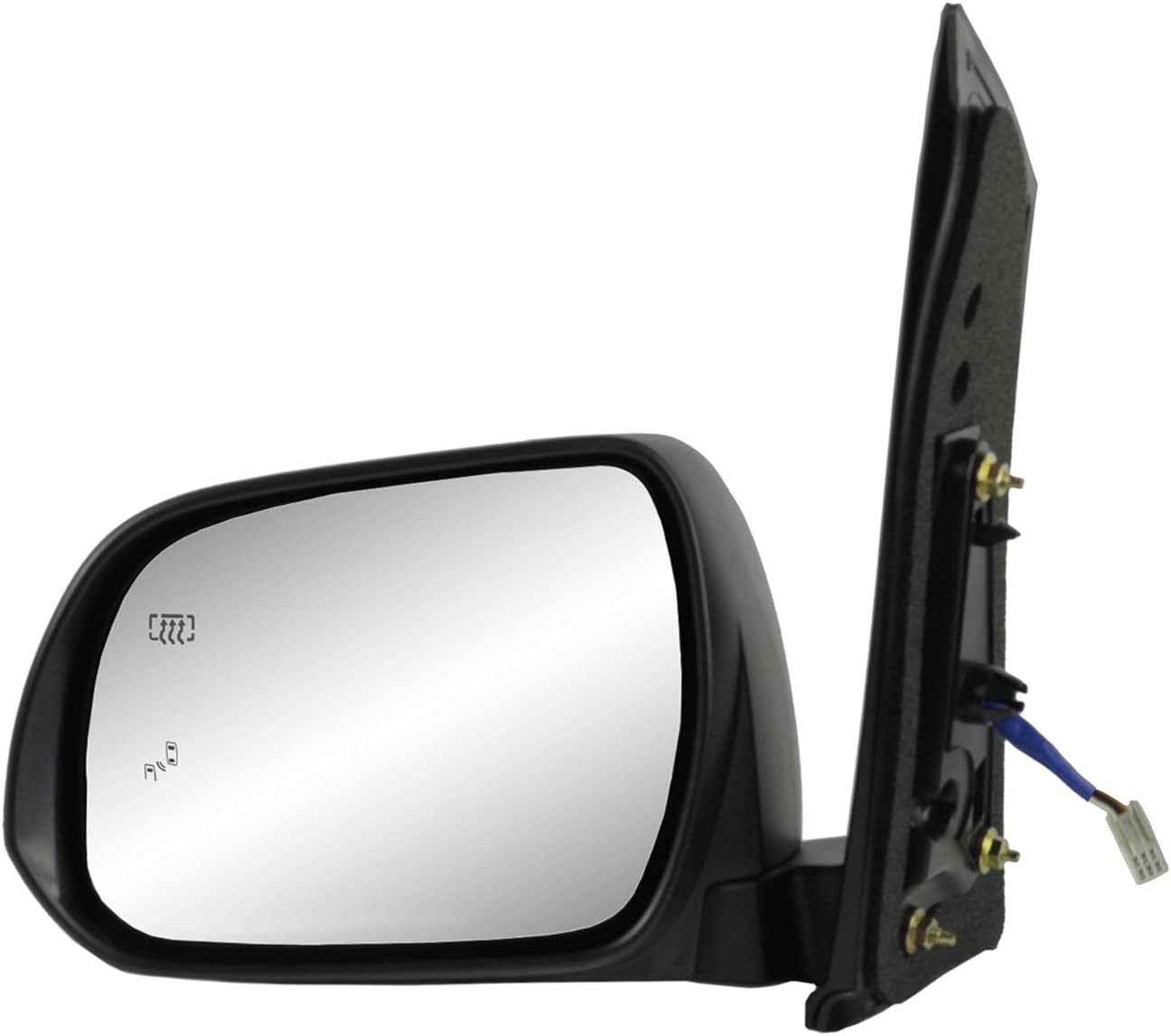 Fit System 70136T Toyota Sienna Driver Side OE Style Heated Power Replacement Mirror