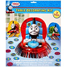 Thomas the Train Tank Engine ( Thomas & Friends ) Party Table Decorations Kit ( Centerpiece Kit ) 23 PCS - Kids Birthday and Party Supplies Decoration