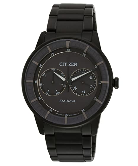 bc62fd8e104 Image Unavailable. Image not available for. Colour  Citizen Eco-Drive Analog  Grey Dial Men s Watch ...