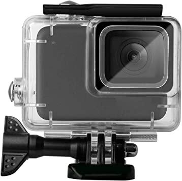 Topiky Estuche Impermeable para cámara, 30m Funda Impermeable para Buceo, Gopro Hero 7 para Surfear/bucear/Nadar, Plateado/Blanco: Amazon.es: Electrónica