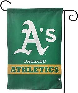 "Stockdale Oakland Athletics Garden Flag Autumn Banner 12.5"" x18 for Patio Farmhouse Decor"