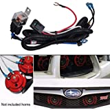 Brilliant Amazon Com Jhe Horn Wiring Harness Kits For Car Truck Grille Mount Wiring 101 Breceaxxcnl